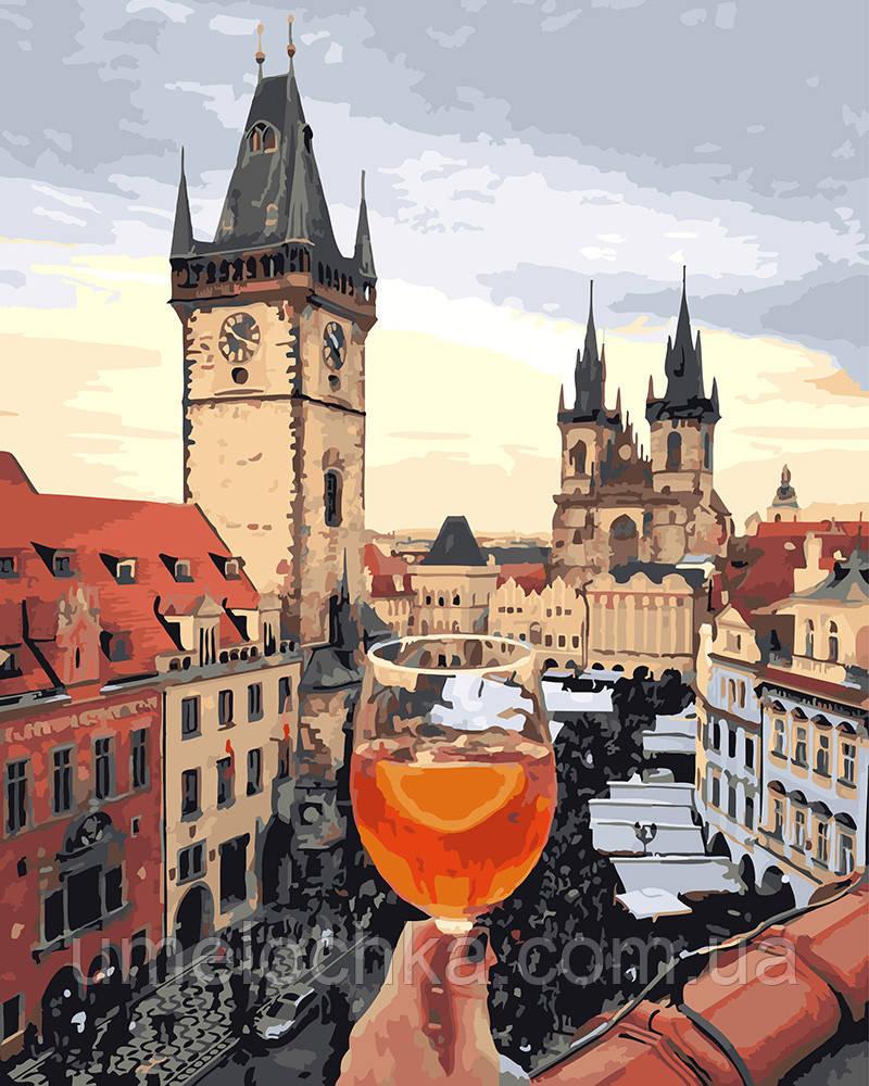Картина по номерам Пражский Апероль 40 х 50 см (BRM25360)