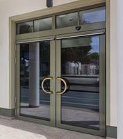 Входные алюминиевые двери W72