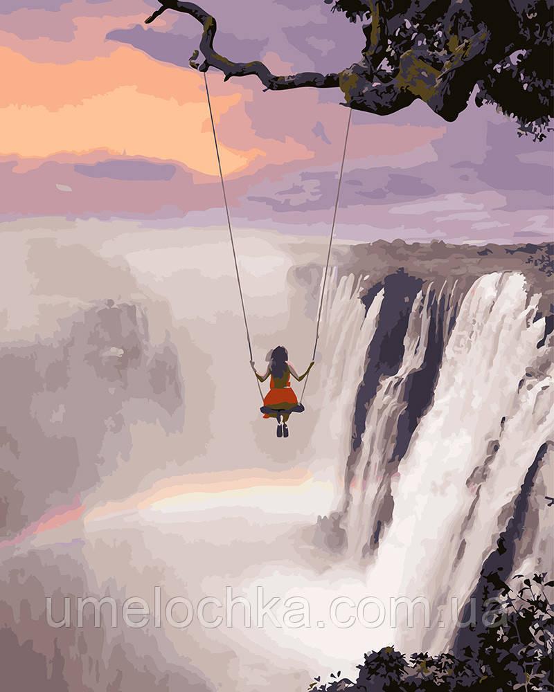 Картина по номерам Над водопадом 40 х 50 см (BRM27935)