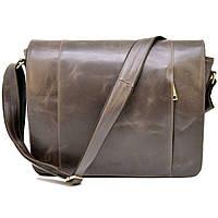 8fb30023710f Большая мужская сумка-почтальон из натуральной кожи GС-7338-3md бренда TARWA