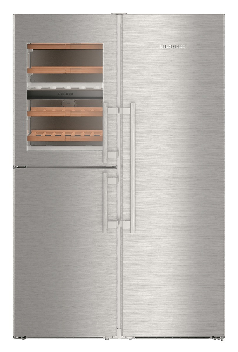 Холодильник Liebherr SBSes 8486-21 PremiumPlus BLUPerformance