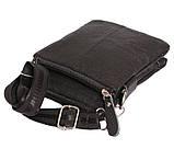 Мужская кожаная сумка Dovhani BL30014131 Черная, фото 3