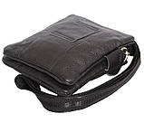 Мужская кожаная сумка Dovhani BL30014131 Черная, фото 8