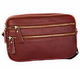 Мужская кожаная сумка Dovhani BL3011832 Рыжая, фото 2