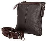 Мужская кожаная сумка Dovhani BL30014241 Черная, фото 3