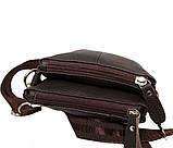 Мужская кожаная сумка Dovhani BL30014241 Черная, фото 5