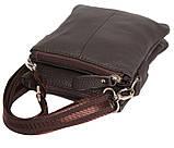 Мужская кожаная сумка Dovhani BL30014241 Черная, фото 6