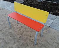 Лавка для детского сада с сидением из ДСП   ЛСД114