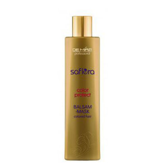 DEMIRA Professional SAFLORA COLOR PROTECT Бальзам-маска для фарбованного волосся 300мл