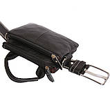 Мужская кожаная сумка Dovhani BL30014345 Черная, фото 9