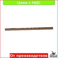 Линейка деревянная 50 см (500 мм) (шелкография) 103011