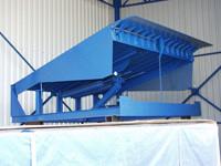 Электрогидравлическая платформа с поворотной аппарелью DoorHan