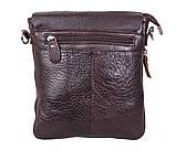 Мужская кожаная сумка Dovhani MESS81388-2CF72 Коричневая, фото 2