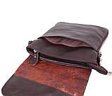 Мужская кожаная сумка Dovhani MESS81388-2CF72 Коричневая, фото 7
