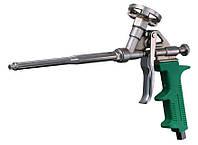 Пистолет для монтажной пены зел. ручка MasterTool 81-8672
