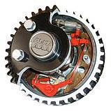 Тормозная ось с автоматической регулировкой тормозных колодок 1350 кг. A=1300 112*5, фото 3