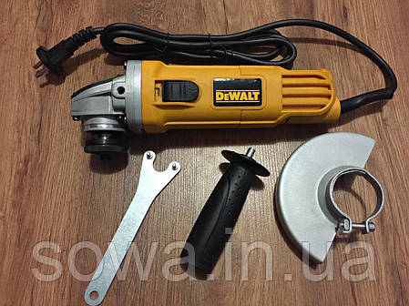 ✔️ Болгарка DeWALT - DWE4157 ( 125 мм, 900 Вт ) Гарантия 1год Качество 5+, фото 2