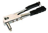 Пистолет для заклепок хромированный MasterTool 21-0707