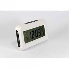 Настольные часы с термометром, подсветкой Keenly kk-2616, фото 3