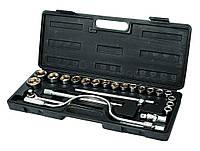 Набор ключей и насадок торцевых 24 шт в кейсе MasterTool 78-0260