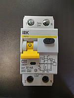 Автоматический выключатель дифференциального тока IEK C20A/30ma