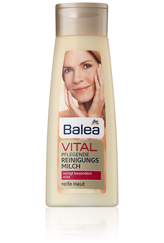 Balea Vital питательное молочко Pflegende Reinigungsmilch 200мл
