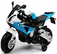 Детский электромотоцикл M1904 Синий