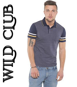 Купить футболку мужскую поло Wild Club
