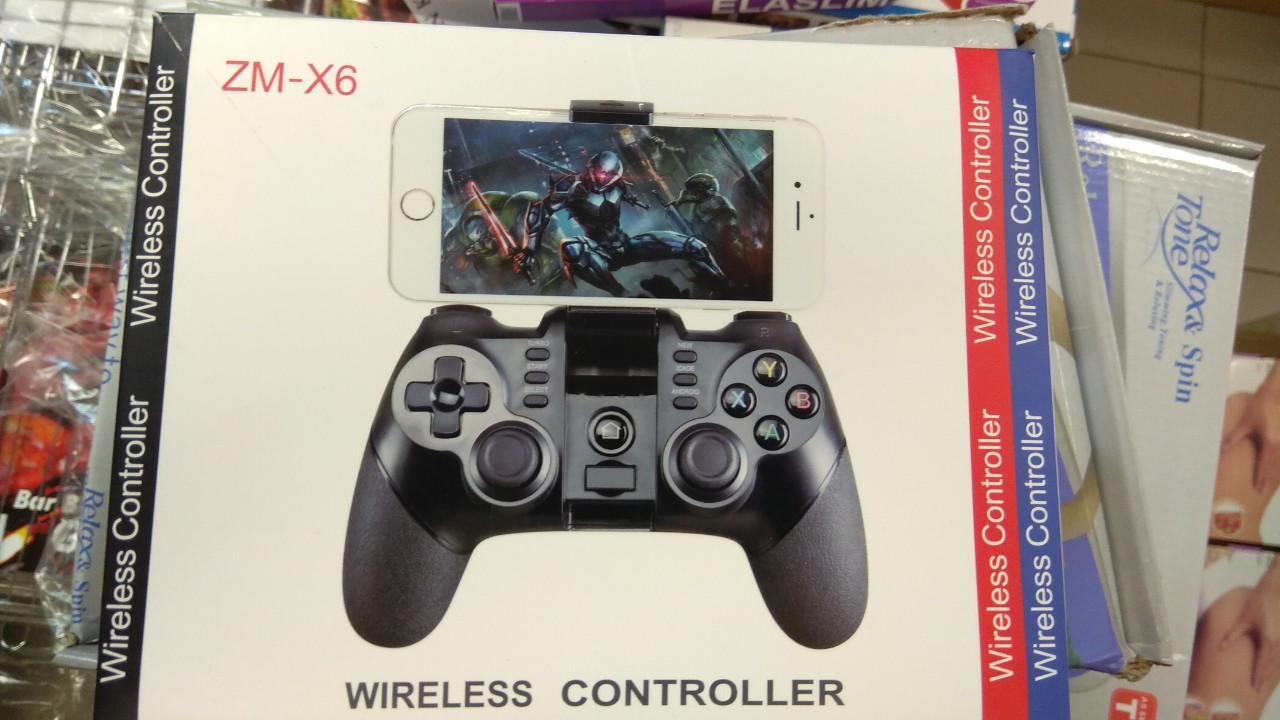 Джойстик, игровой контроллер ZM - X6, Bluetooth V3.0 + 2.4G, WiFi