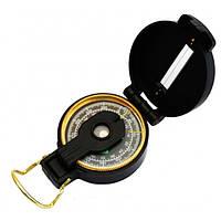 Магнитный компас d-50 мм, пластиковый с металлической застежкой