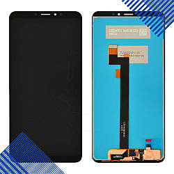Дисплей (экран) для Xiaomi Mi Max 3 с тачскрином в сборе, цвет черный