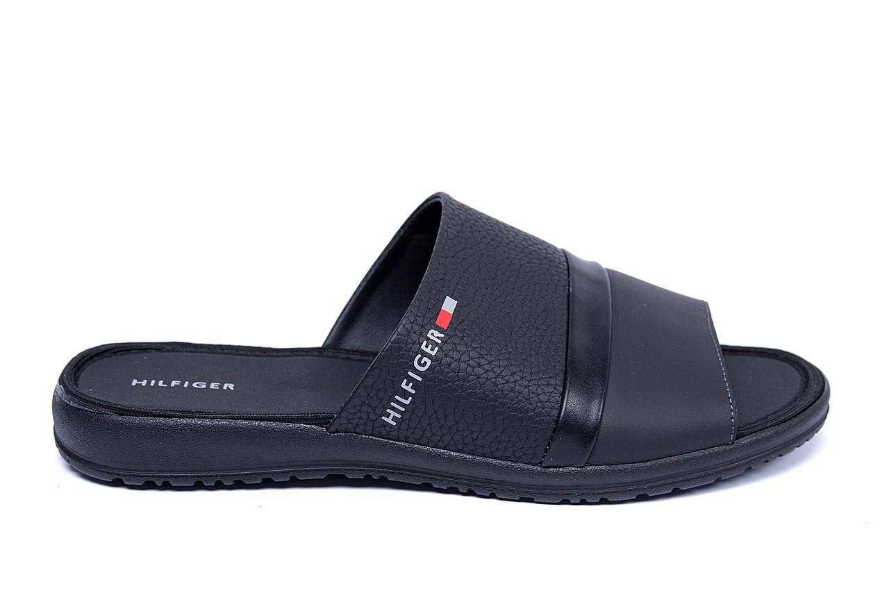 189f95a5 Мужские кожаные летние шлепанцы-сланцы TH (реплика) - Интернет Магазин -  мужской обуви