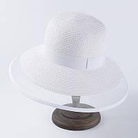 Летняя ретро шляпа Одри Хепберн белая