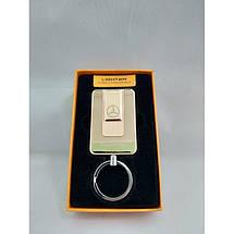 Электроимпульсная зажигалка Lighter 811 спиральная usb зажигалка юсб BMW Mercedes, фото 3