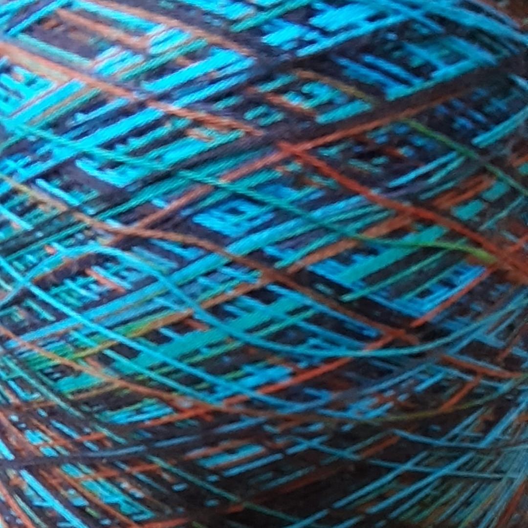 100%хлопок MISSONI LA PREALPINA - бобинная пряжа для машинного и ручного вязания