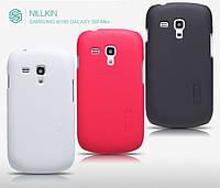 Чехол для Samsung Galaxy S3 Mini Neo i8200 - Nillkin Super Frosted Shield (пленка в комплекте)