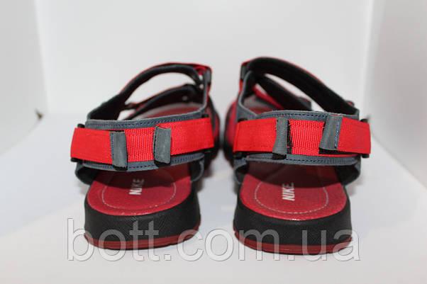 Красные босоножки кожаные, фото 3