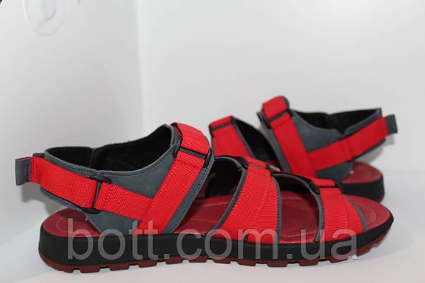 Красные босоножки кожаные, фото 2