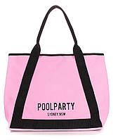 Котоновая сумка Poolparty Laguna (розовая), фото 1