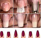 Стекловолокно для наращивания ногтей, 10 лент по 5,5 см, фото 4