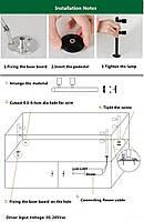 Светильник для подсветки витрин  LED TLS -3*1W 220V  4500К  серебро  200mm, фото 5