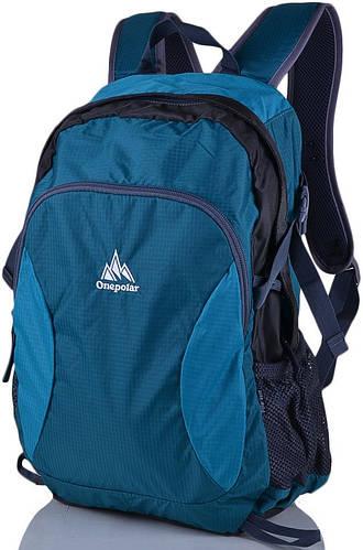 Практичный городской, спортивный рюкзак 20 л. Onepolar W1798-green