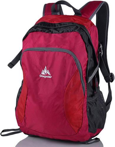 Городской рюкзак спортивного стиля 20 литров Onepolar W1798-red