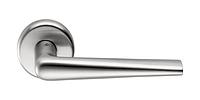 Дверная ручка Colombo Robotre в цвете матовый хром