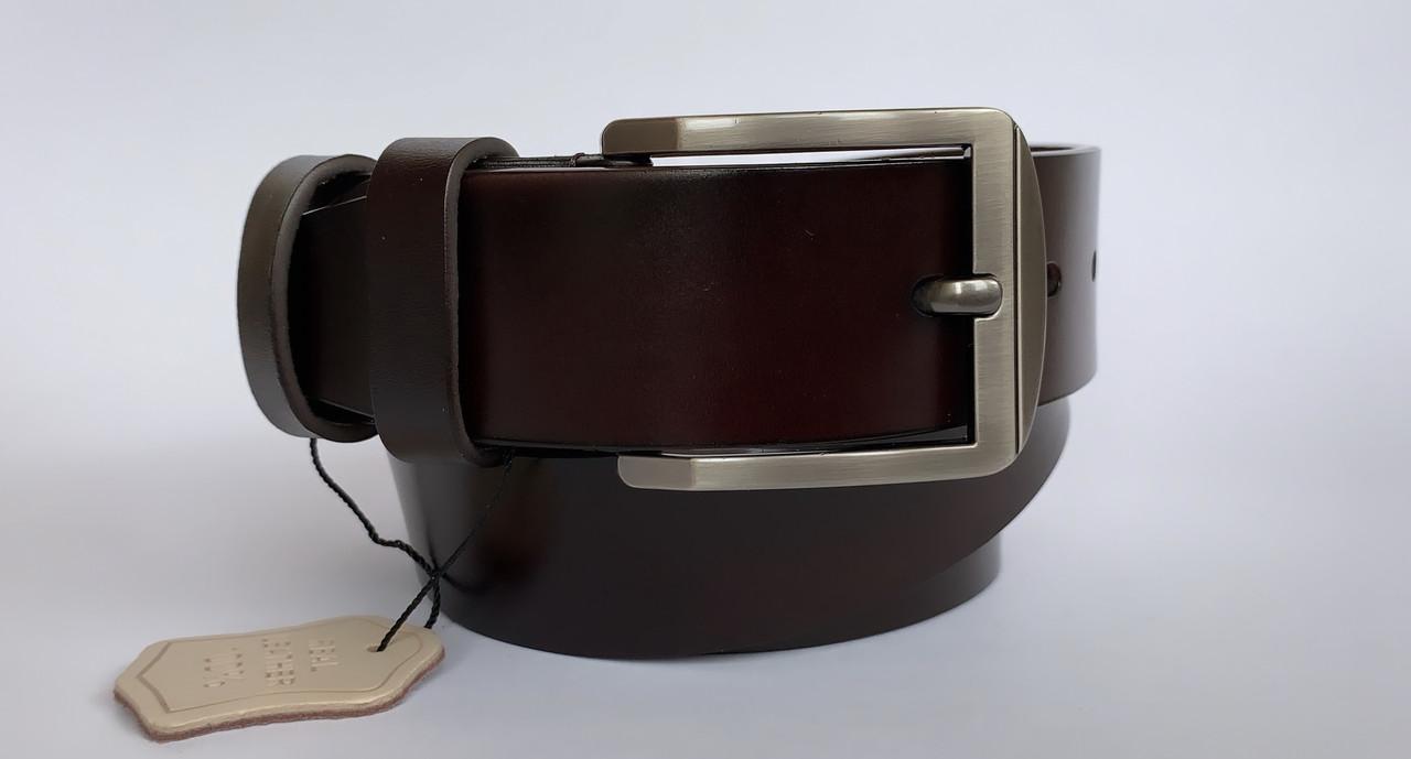 Мужской ремень КОЖА А-17 (коричневый)