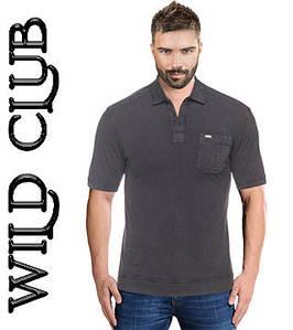Футболка мужская поло большого размера Wild Club