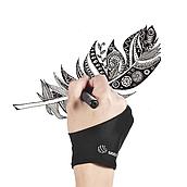 Перчатка универсальная UGEE для работы с графическими планшетами или рисования на бумаге, размер M