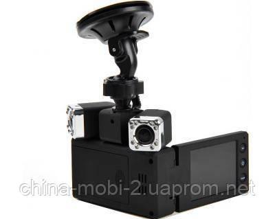 Видеорегистратор X5000 Dual Camera HD DVR  Carcam X5000