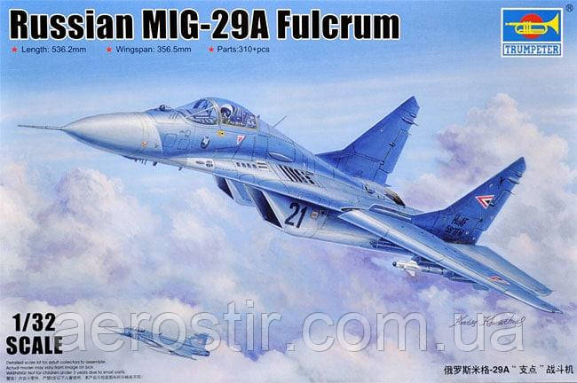 Russian MiG-29A Fulcrum 1/32 Trumpeter 03223