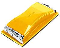 Колодка для ручного шлифования 85 х 165, металлические зажимы Topex 08A108